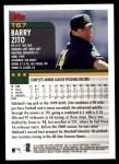2000 Topps Traded #67 T Barry Zito  Back Thumbnail