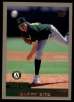2000 Topps Traded #67 T Barry Zito  Front Thumbnail