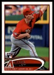 2012 Topps Update #5  Wade Miley  Front Thumbnail