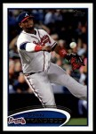 2012 Topps Update #41  Juan Francisco  Front Thumbnail