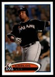 2012 Topps Update #83  Carlos Lee  Front Thumbnail