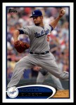 2012 Topps Update #113  Scott Elbert  Front Thumbnail