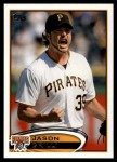 2012 Topps Update #115  Jason Grilli  Front Thumbnail