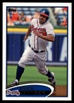 2012 Topps Update #136  Reed Johnson  Front Thumbnail