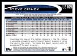 2012 Topps Update #169  Steve Cishek  Back Thumbnail