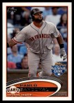 2012 Topps Update #182  Pablo Sandoval  Front Thumbnail