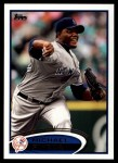 2012 Topps Update #198  Michael Pineda  Front Thumbnail