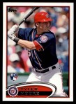 2012 Topps Update #208  Tyler Moore  Front Thumbnail