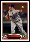 2012 Topps Update #219  Brian Fuentes  Front Thumbnail