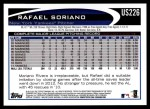 2012 Topps Update #226  Rafael Soriano  Back Thumbnail