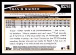 2012 Topps Update #263  Travis Snider  Back Thumbnail
