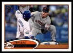 2012 Topps Update #316  Ryan Theriot  Front Thumbnail