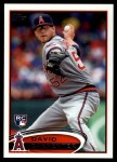 2012 Topps Update #321  David Carpenter  Front Thumbnail
