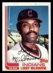 1982 Topps Traded #71 T Larry Milbourne  Front Thumbnail