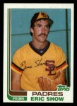 1982 Topps Traded #106 T Eric Show  Front Thumbnail