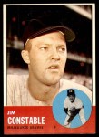 1963 Topps #411  Jim Constable  Front Thumbnail