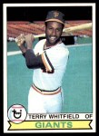 1979 Topps #589  Terry Whitfield  Front Thumbnail