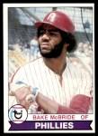 1979 Topps #630  Bake McBride  Front Thumbnail