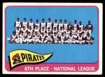 1965 Topps #209   Pirates Team Front Thumbnail