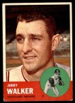 1963 Topps #413 xRED Jerry Walker  Front Thumbnail