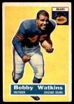 1956 Topps #95  Bobby Watkins  Front Thumbnail