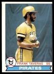 1979 Topps #165  Frank Taveras  Front Thumbnail