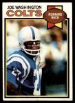 1979 Topps #150  Joe Washington  Front Thumbnail