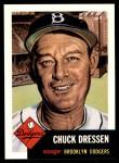 1953 Topps Archives #50  Chuck Dressen  Front Thumbnail