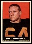1961 Topps #136  Bill Krisher  Front Thumbnail