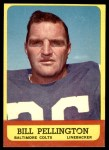 1963 Topps #10  Bill Pellington  Front Thumbnail