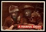 1956 Topps Davy Crockett Green Back #8   Fearful Sight  Front Thumbnail