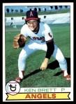 1979 Topps #557  Ken Brett  Front Thumbnail