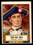 1952 Topps Look 'N See #42  John Paul Jones  Front Thumbnail