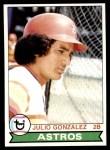 1979 Topps #268  Julio Gonzalez  Front Thumbnail