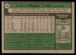1979 Topps #639  Manny Trillo  Back Thumbnail