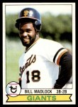1979 Topps #195  Bill Madlock  Front Thumbnail