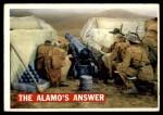 1956 Topps Davy Crockett #54   The Alamo's Answer  Front Thumbnail