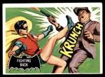 1966 Topps Batman Black Bat #30   Fighting Back Front Thumbnail