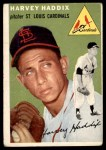 1954 Topps #9 WHT Harvey Haddix  Front Thumbnail