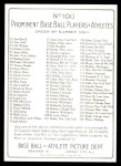 T3 Turkey Red Reprint #100  Davy Jones  Back Thumbnail