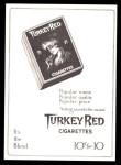 T3 Turkey Red Reprint #119  George Stone  Back Thumbnail