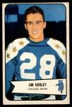 1954 Bowman #121  Jim Dooley  Front Thumbnail