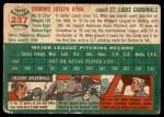 1954 Topps #237  Mike Ryba  Back Thumbnail