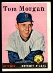1958 Topps #365  Tom Morgan  Front Thumbnail