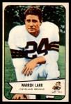 1954 Bowman #74  Warren Lahr  Front Thumbnail