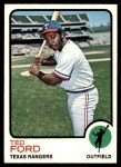 1973 Topps #299  Ted Ford  Front Thumbnail