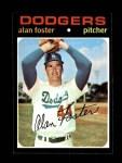 1971 Topps #207  Alan Foster  Front Thumbnail