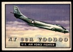 1952 Topps Wings #124   XF 88A Voodoo Front Thumbnail