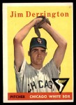 1958 Topps #129  Jim Derrington  Front Thumbnail