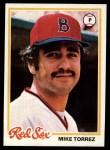 1978 Topps #645  Mike Torrez  Front Thumbnail